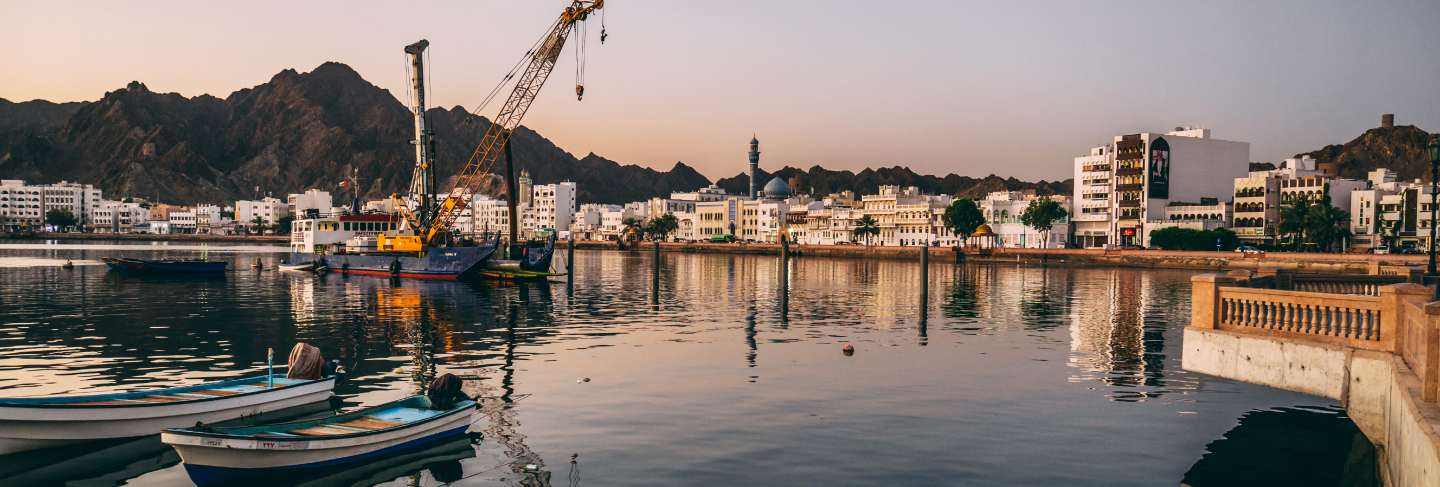 Port of muscat in oman