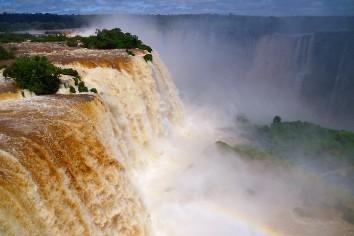 Cataratas de waterfall brazil iguazu