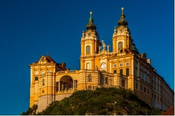 Melk abbey in wachau, austria