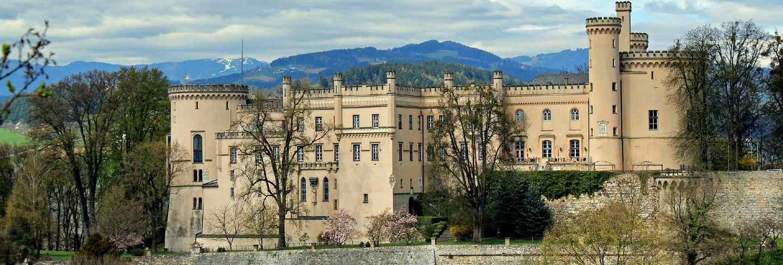 Castle scenic austria fortress landscape wolfsberg