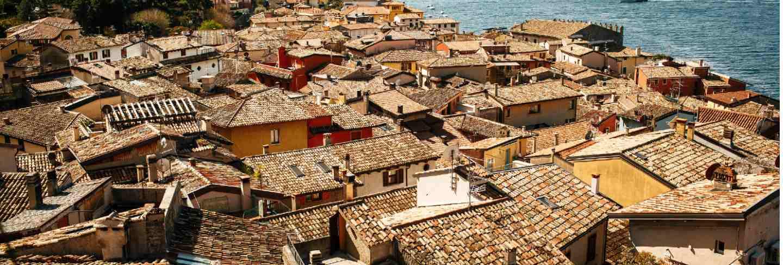 Beautiful cityscape of old verona, italy