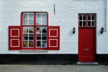House in bruges brugge , belgium