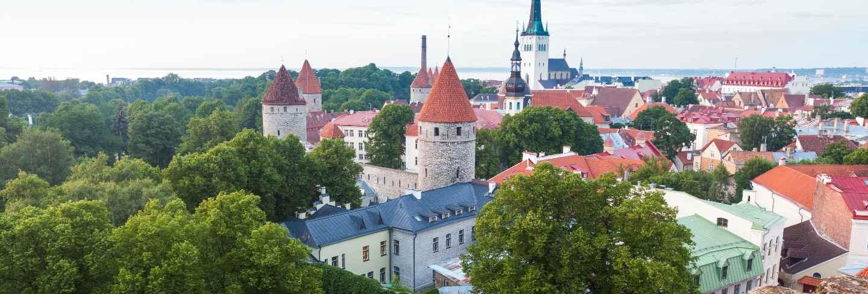 Panoramic view of tallinn