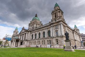 Belfast city, northern ireland, uk