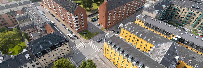 Beautiful copenhagen city in denmark