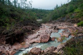 Mountain pine ridge reserve, rushing water