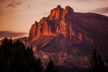 Sallanches france mountain