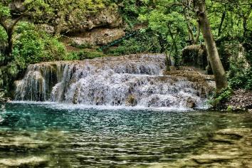 Cascade krushuna waterfall water nature bulgaria