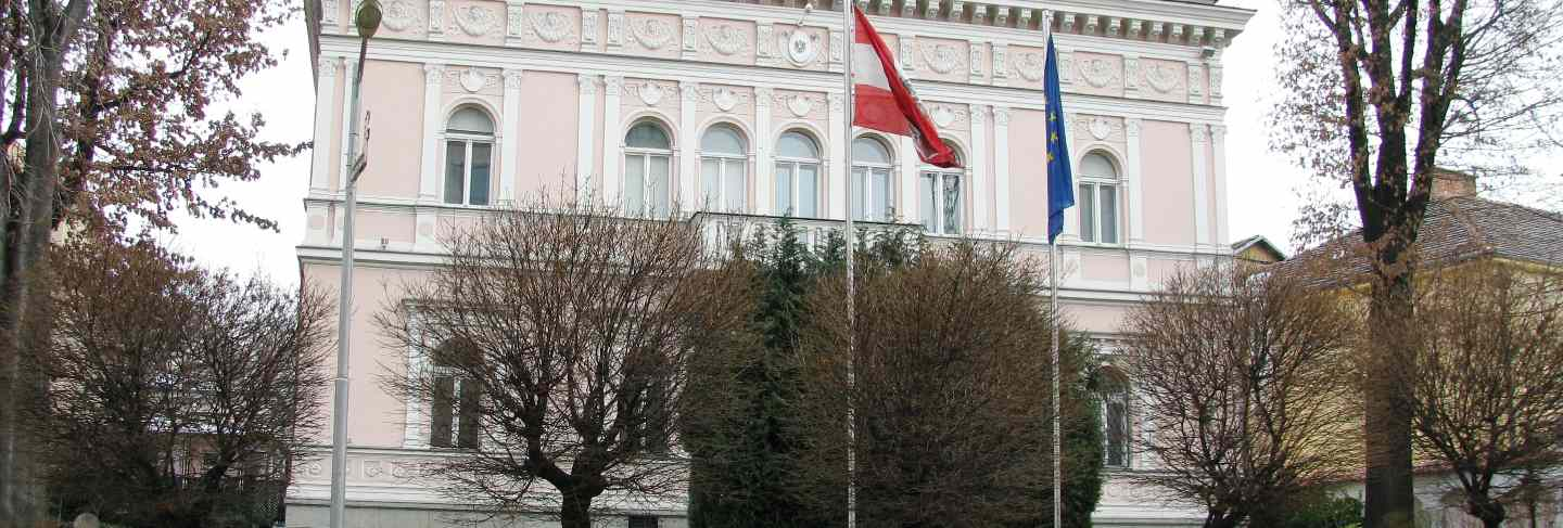 Old houses in sofia, flag