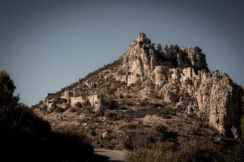 St. hilarion castle. kyrenia district