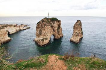 Moussa castle in lebanon