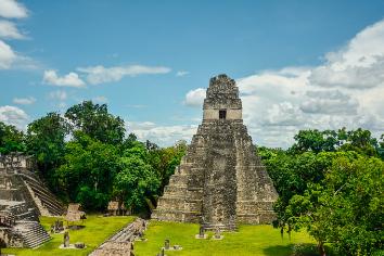 Tikal archaeological national parks.