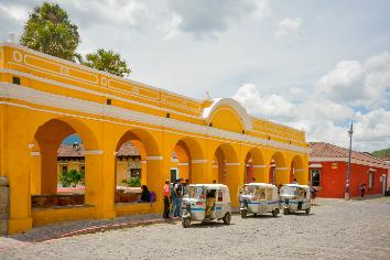 Tanque la unión in antigua guatemala.
