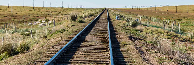 Trans Mongolian railway, single-track railway
