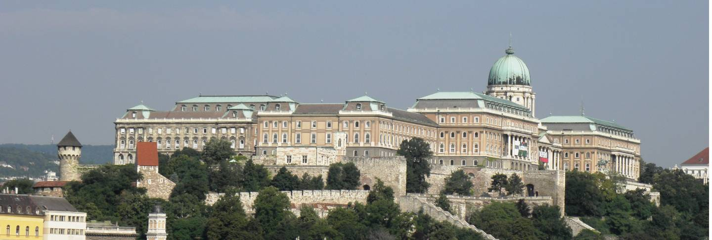 The residence of maria theresa in budape