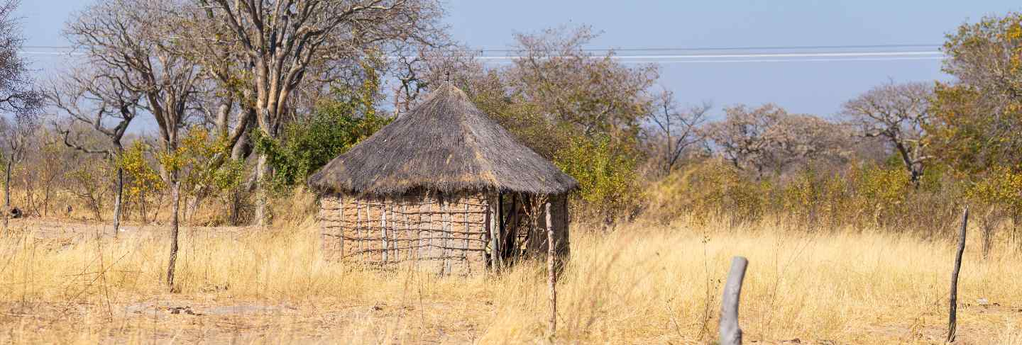 mud-straw-wooden-hut-with-thatched-roof-bush-local-village-rural-caprivi-strip-most-populated-region-namibia-africa
