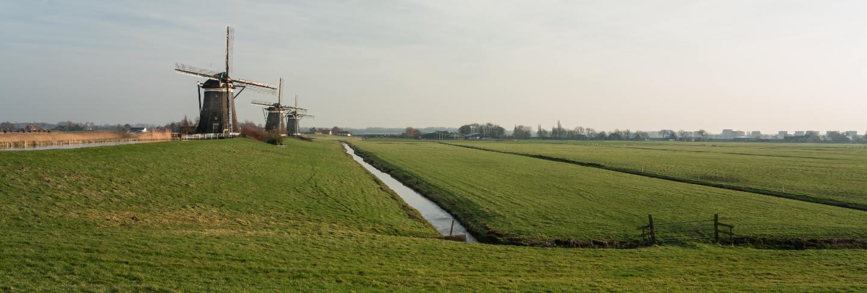 Windmill in nederland
