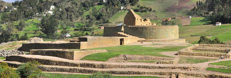 Ingapirca ruins, ecuador