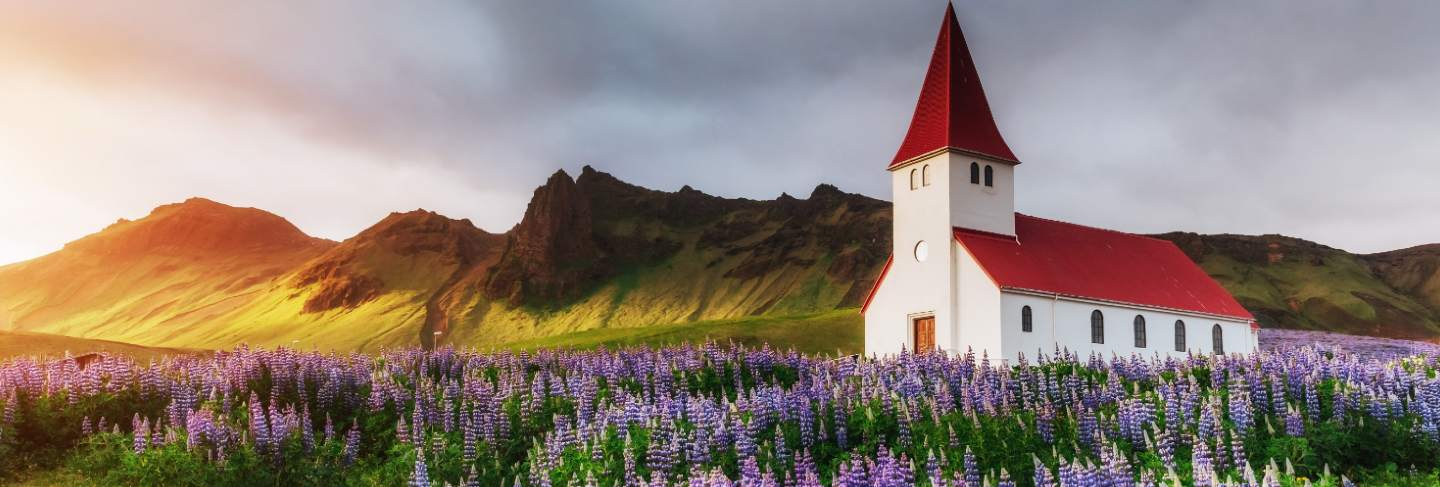 Iceland, located on the main ring road around the island