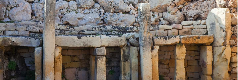 Ggantija neolithic temples (3600 b.c.) Free Photo