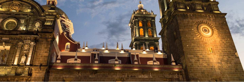 Puebla cathedral mexico