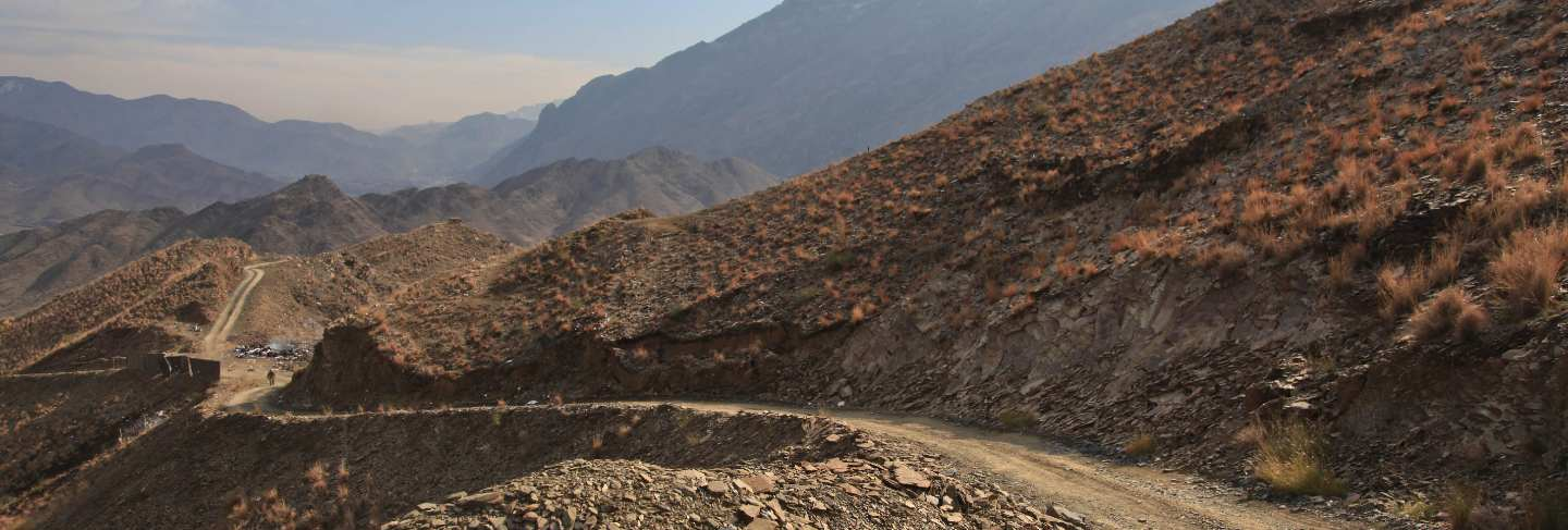 Mountains remote hills afghanistan road rocks