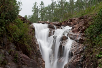 Mountain pine ridge reserve, waterfall