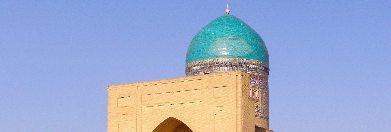Bibi-khanym mausoleum. a famous historic site in samarkand, uzbekistan