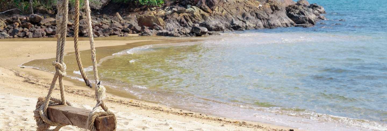 Seesaw on the beach Premium Photo
