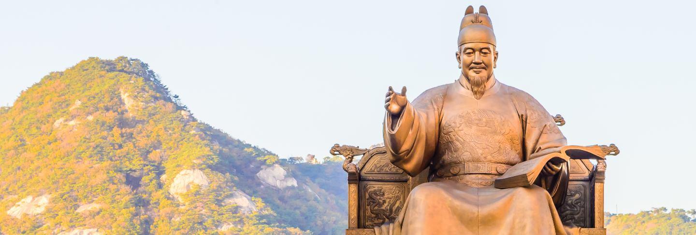 Great golden statue