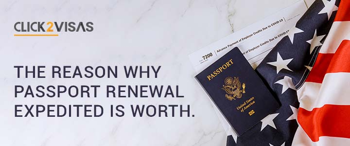 The reason why passport renewal expedited is worthy