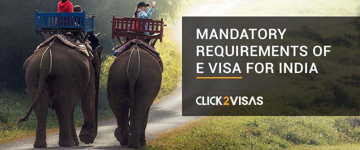 Mandatory Requirements of E Visa for India
