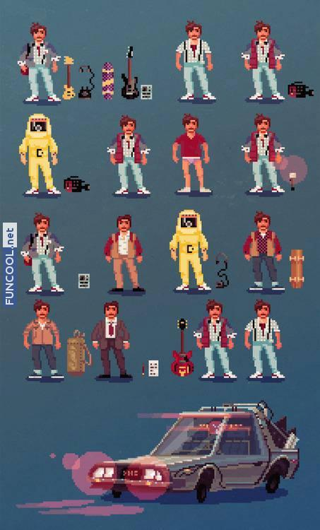 8 bit Back to the Future