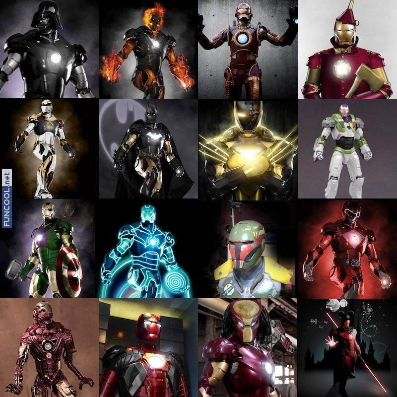 A lot of Iron Men