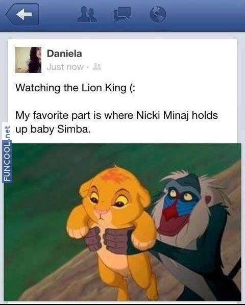 The Lion Minaj King