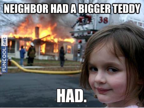 Bigger teddy