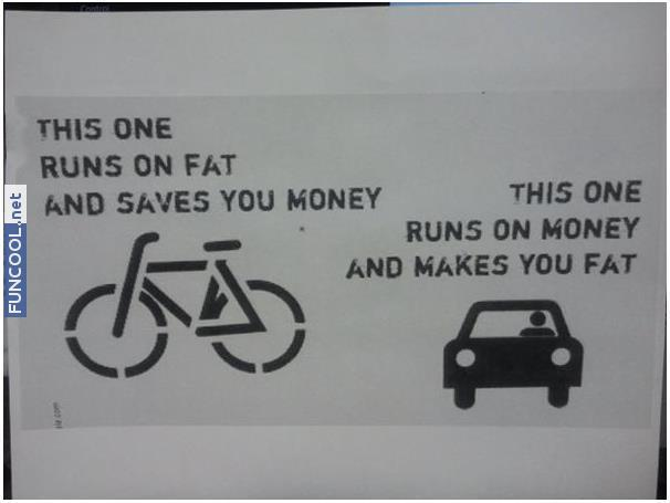 Use bike!