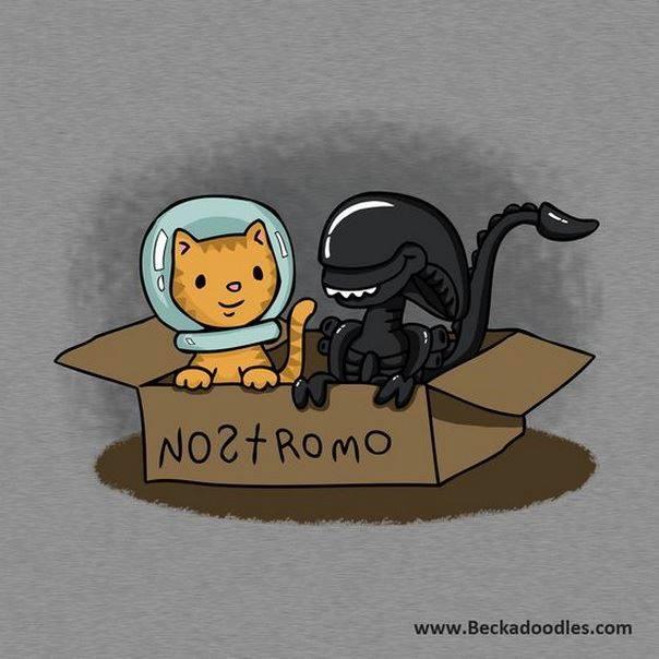 Alien, the cute version
