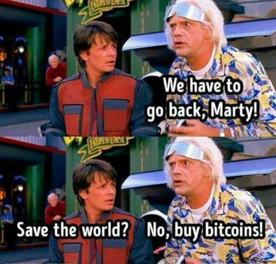 Back to the bitcoin