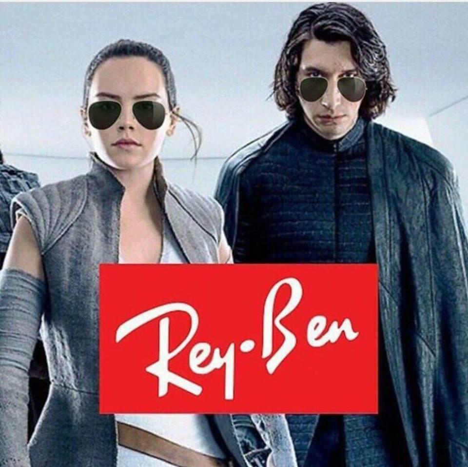Star Wars Rey Ben