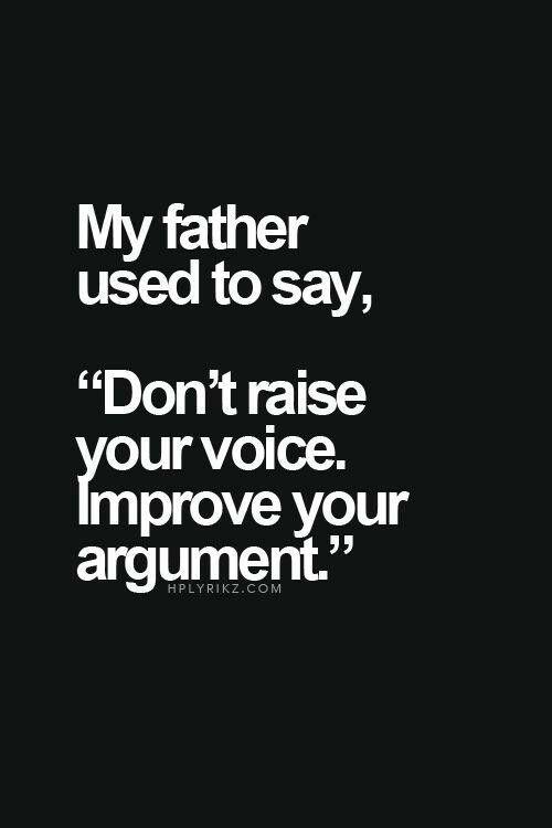 A good father advice