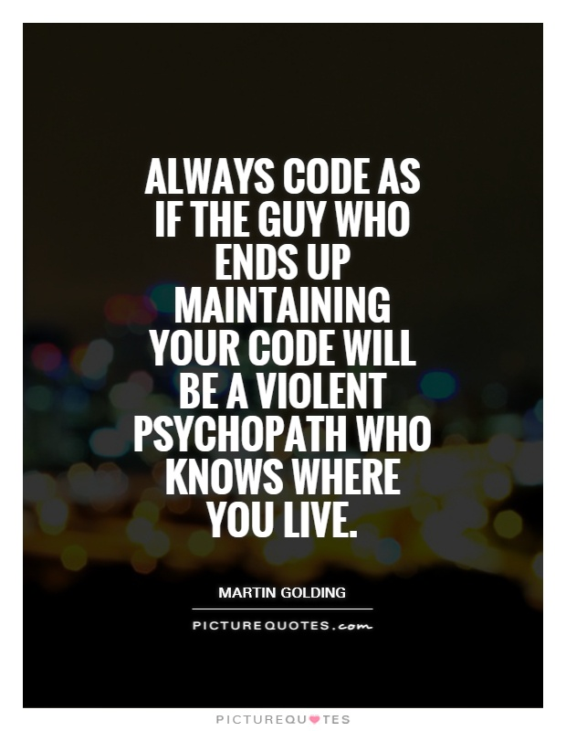 Programing quotes