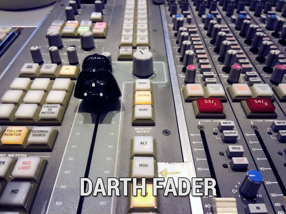 Luke, I am your fader!