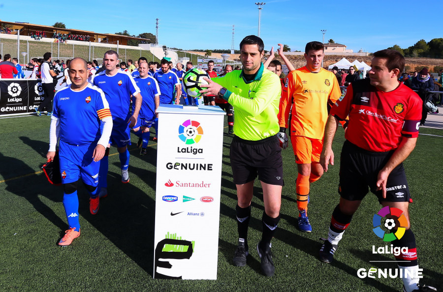 La Liga Genuine arriba a Mallorca!