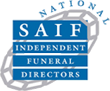 SAIF logo - National Society of Allied and Independent Funeral Directors