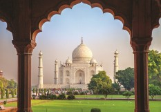 India 2021 Ft Ss569235022 Taj Mahal Through Arch