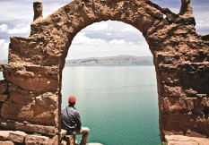 Pe18 Lake Titicaca