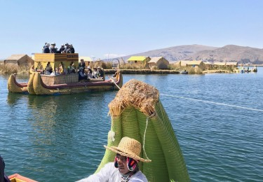 Sailing Lake Titicaca