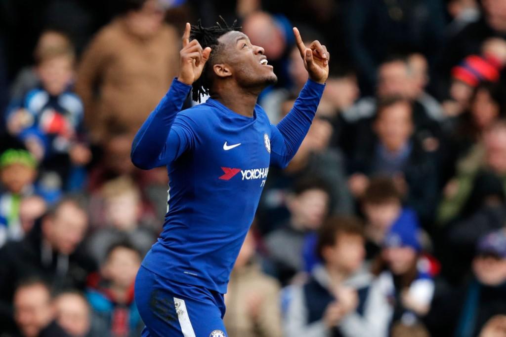 Chelsea forward Michy Batshuayi.