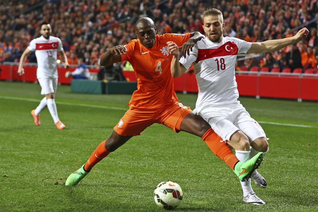Bruno Martins Indi in action for Holland